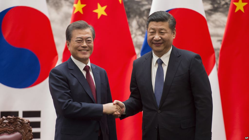 China & South Korea tensions come to forefront