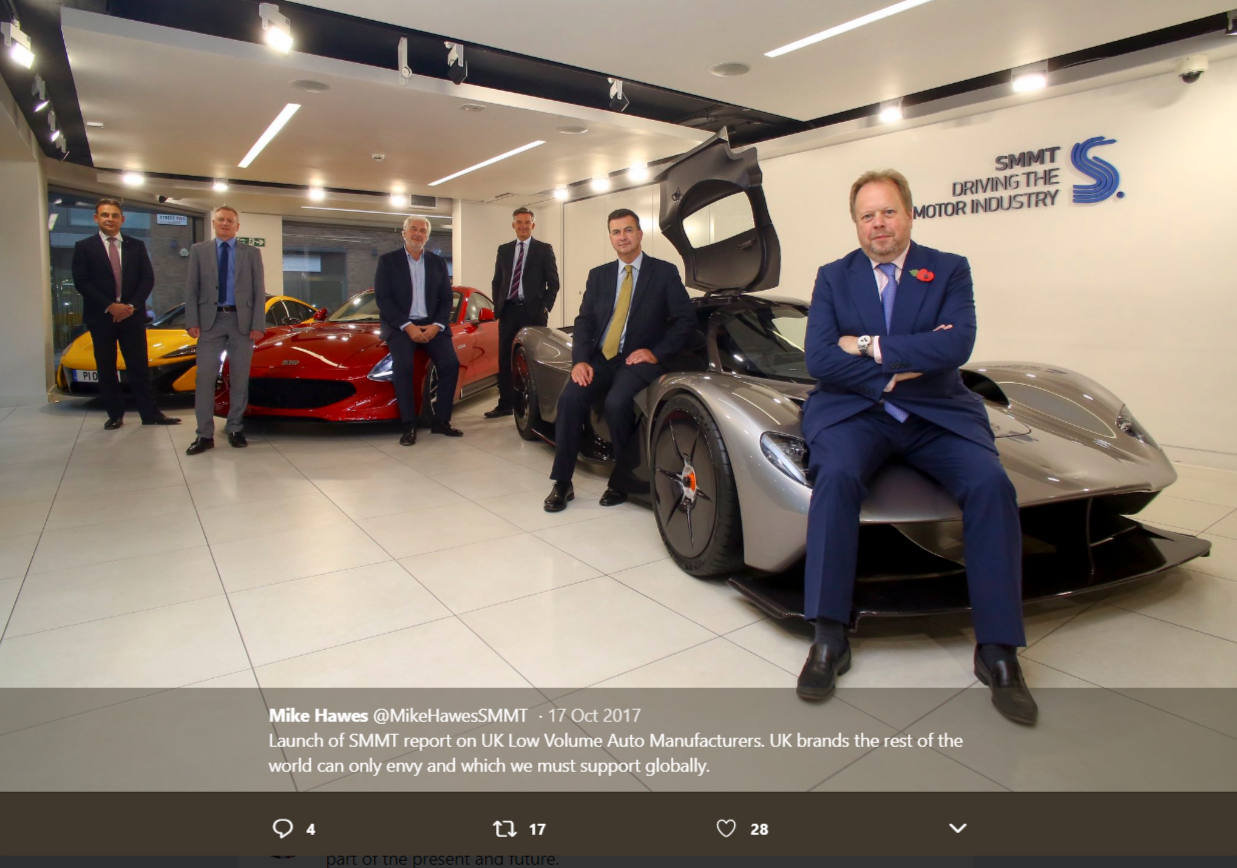 Mike Hawes, Chief Executive, Society of Motor Manufacturers and Traders