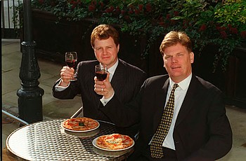 In 1981 David Page had purchased the franchise to control a Pizza Express