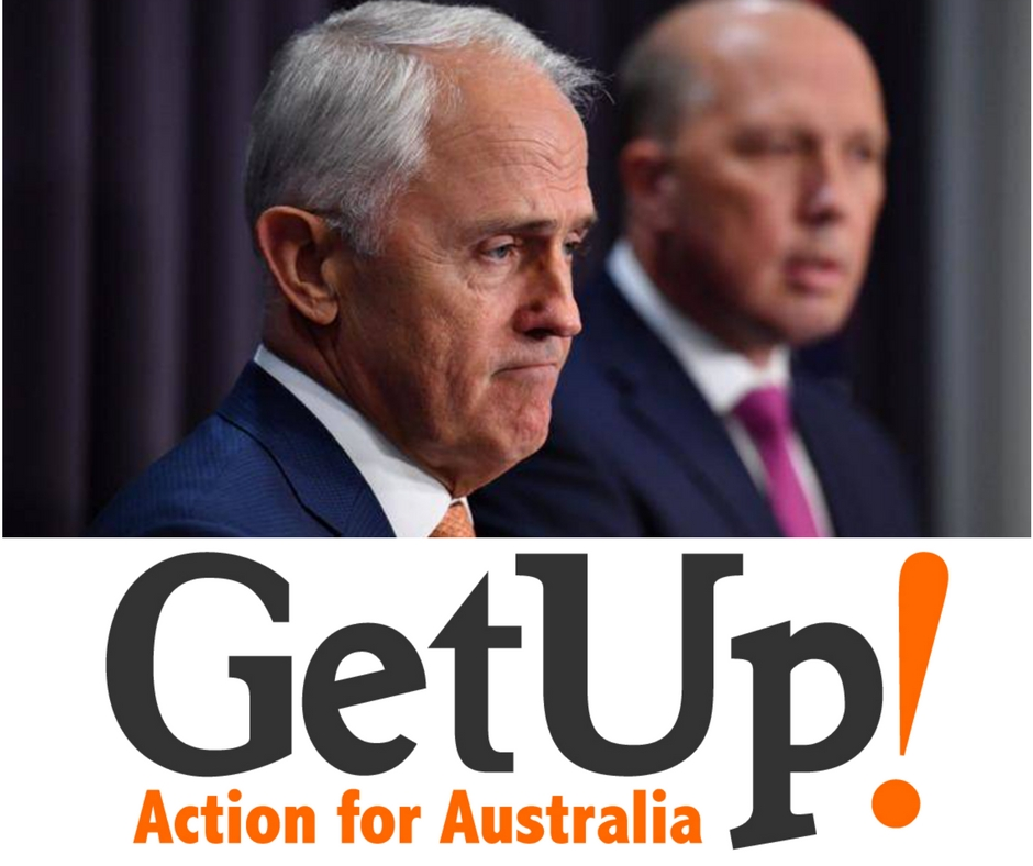 Labor's Andrew Giles has clearly stated his idea on how a coalition called Getup can actually be the cause of harm for winning bipartisan support on foreign interference bill.