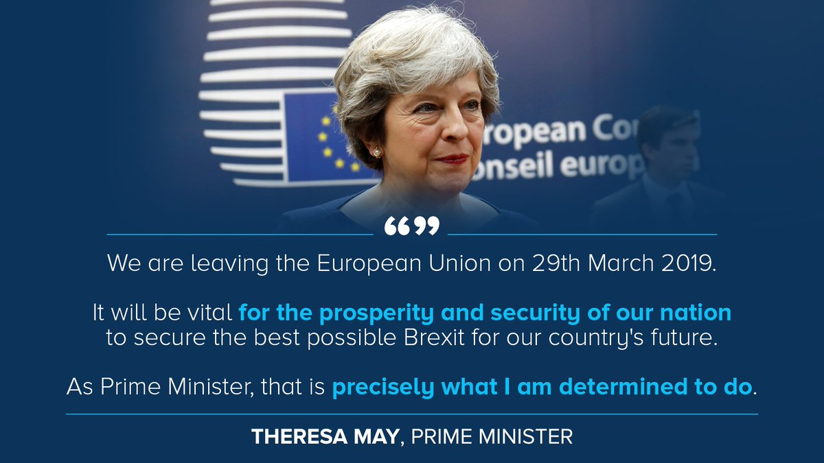Theresa May's decision of Brexit