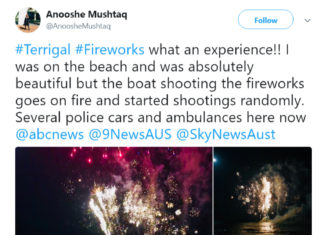 New Year celebration turned wrong in Australia
