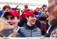 Video Goes Viral Of Covington Catholic High School Students In MAGA Hats To Meet Up Donald Trump As Per Ingraham