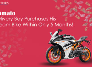 Zomato Delivery Boy Purchases His Dream Bike Within Only 5 Months!