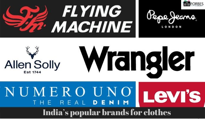 India's popular brands for clothes