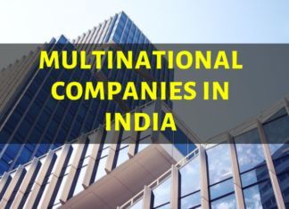 A LIST OF THE LARGEST MNCs IN INDIA 2019