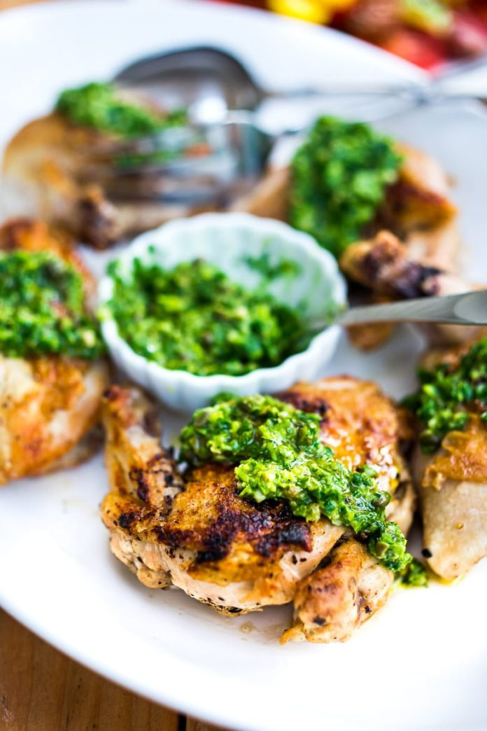 Grilled Chicken | How To Make Grilled Chicken With Italian Salsa Verde?