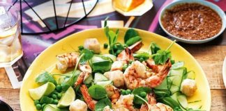 Chargrilled Prawns   How To Prepare Chargrilled Prawns With Cucumber