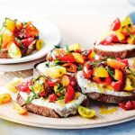 How To Grilled Ricotta Bruschetta With Sweet And Sour Tomatoes ?